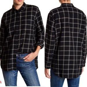 Madewell Oversized Flannel Ex Boyfriend Shirt